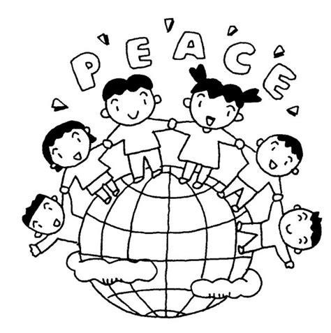 imagenes para colorear sobre la paz 30 de enero d 237 a escolar de la no violencia y la paz