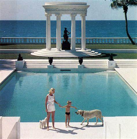 poolside with slim aarons season s greetings from designboom
