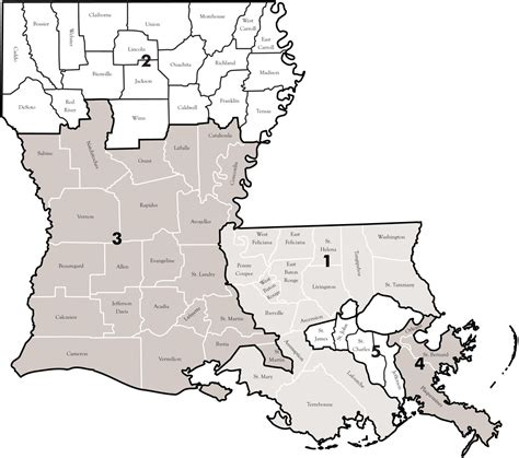 Louisiana Judicial Search Map02 Asp