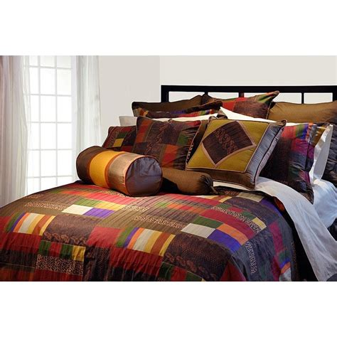 What Size Is A King Comforter by Marrakesh 8 California King Size Comforter Set