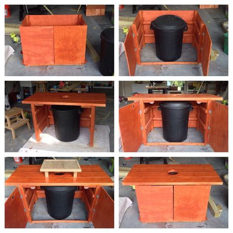oyster shucking table completed projects pinterest