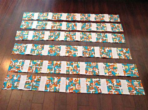 Sashing A Quilt by Pinwheel Quilt Tutorial Using 2 Fabrics Sashing