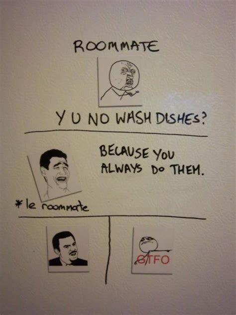 Housemate Meme - 20 more hilarious roommate notes smosh