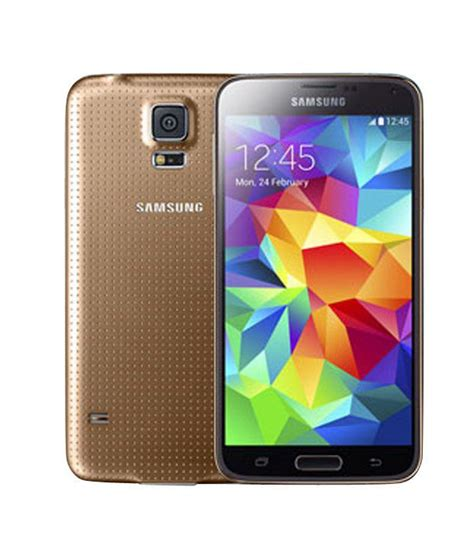Samsung Galaxy S5 G900 16 Gb Copper Gold samsung galaxy s5 16 gb copper gold available at snapdeal