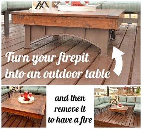 pit that converts to table pit table top hometalk