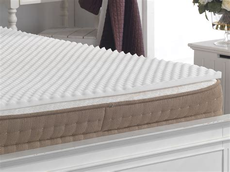 Mattress Topper For Back by Back Support Relief Egg Box Foam Mattress Pad Topper