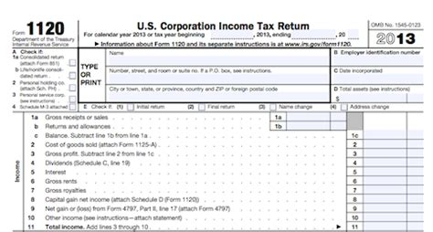 business tax return form 1120 business tax tips to save you time and money untemplater