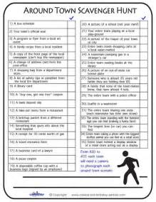 scavenger hunt checklist template best 25 scavenger hunt ideas on
