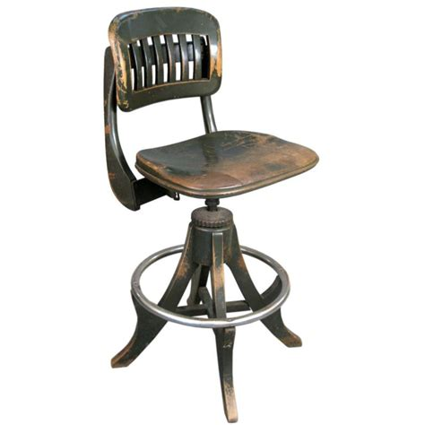 antique drafting stool antique industrial drafting stool by sikes atlanta biz