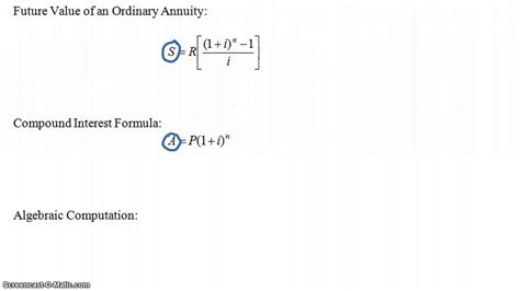 present value of an ordinary annuity i 11 n 9per chegg com