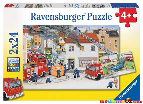 with the brigade ravensburger childrens jigsaw puzzle