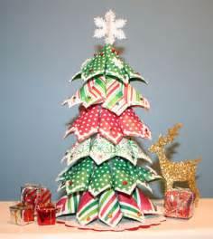 como hacer 225 rbol de navidad de papel