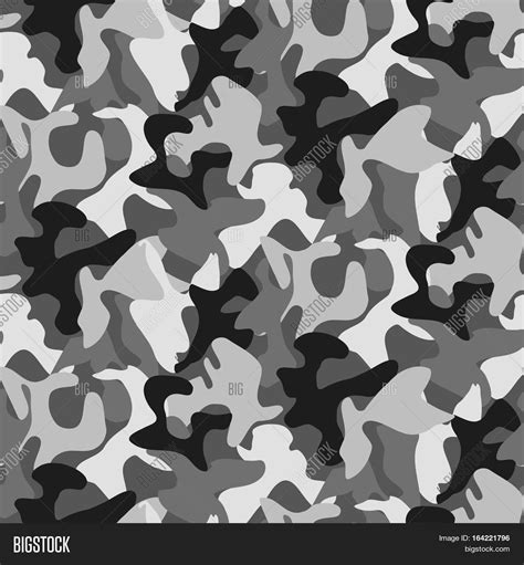 grey army pattern abstract military gray camouflage image photo bigstock