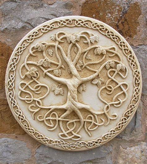 tree of wall plaque garden wall plaques find floral