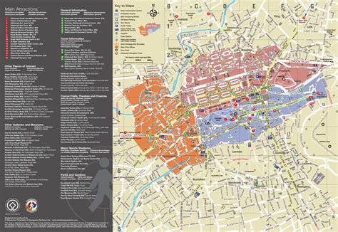 printable street map of edinburgh city centre large detailed tourist map of edinburgh city edinburgh