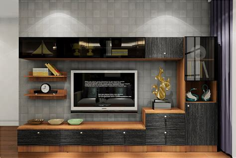 tv cupboard tv cabinet combination with gray wall download 3d house