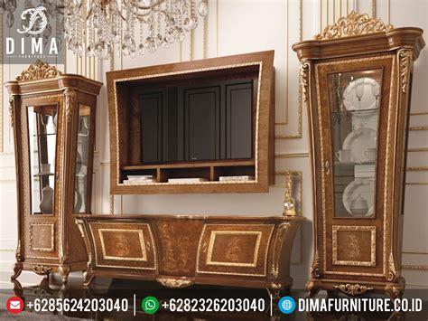 Lemari Hias Jati Dan Bufet Tv Jati Klasik Duco Mewah Kjf Jepara set bufet tv dan lemari hias mewah minimalis classic jepara terbaru murah st 0224 sofa tamu jepara