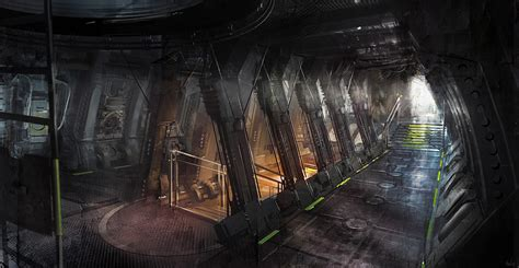 concept art interior on pinterest rpg dead space and cyberpunk dead space 3 concept art by patrick o keefe concept art