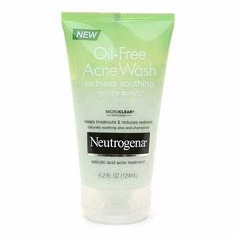 Acne Gentle Scrub neutrogena free acne wash redness soothing gentle scrub reviews photo makeupalley