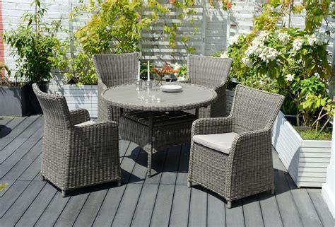 willow outdoor furniture rattan weave garden furniture samoa willow 118cm dining set outdoor rattan