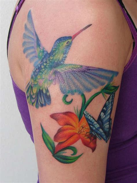 hummingbird butterfly tattoo designs 41 large and small hummingbird tattoos