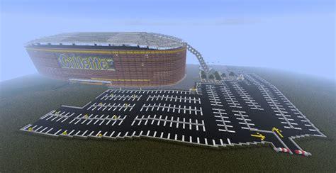 minecraft sports stadium gillette stadium in sport city minecraft project
