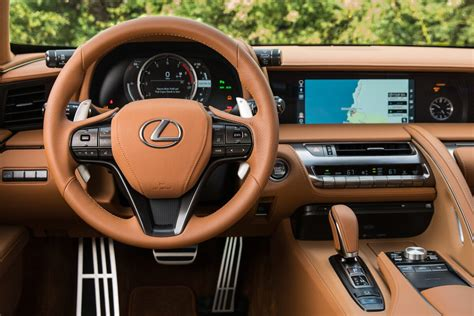 lexus lc interior lexus showcases stunning details of lc coupe in photos