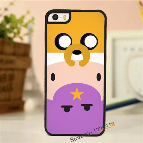 Adventure Time Skateboard Iphone 4 4s 5 5s 5c 6 6 Plus adventure time fashion original cell phone cover for iphone 4 4s 5 5s 5c 6 6 plus in phone