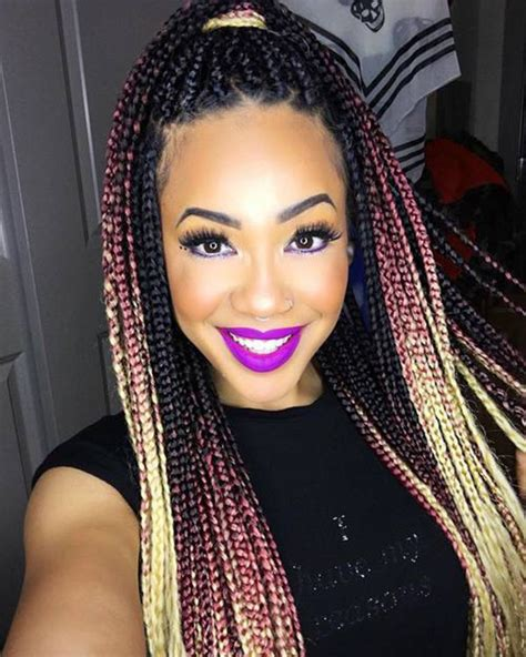 ombre individual braids blog 5 hot trendy hairstyles to african american girls