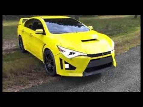 mitsubishi evo 2017 2016 2017 mitsubishi evo x edition sport car