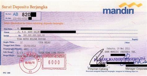 sertifikat deposito berjangka palsu modus penipuan klasik