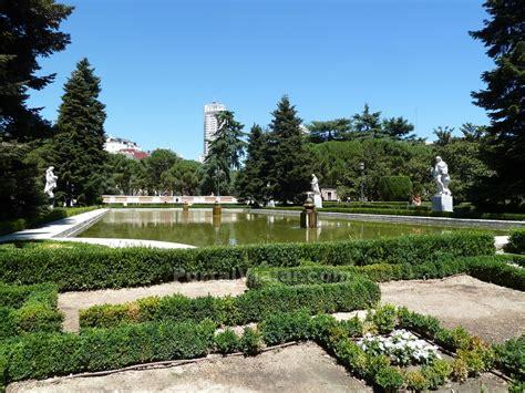 jardines madrid jardines de sabatini madrid portal viajar