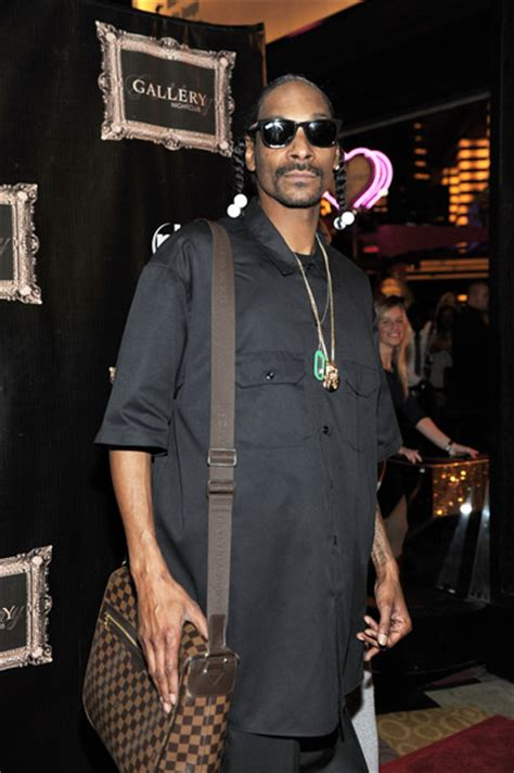 Snoop Dogg Louis Vuitton Was The That They Gave Me by Snoop His Bag I Briefcase In Las Vegas