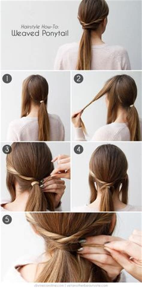 5 one minute basic ponytail weave ponytail hairstyles on weave ponytail