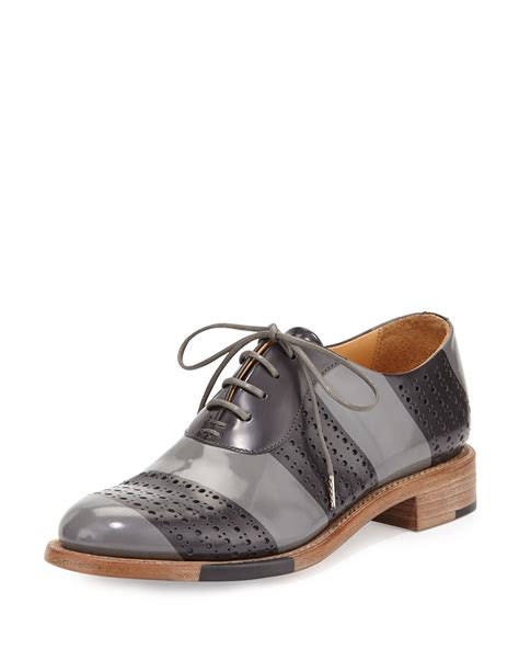 perforated oxford shoes the office of angela mr smith striped perforated