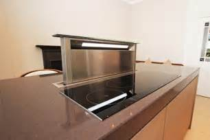 kitchen island extractor fan matt finish kitchen