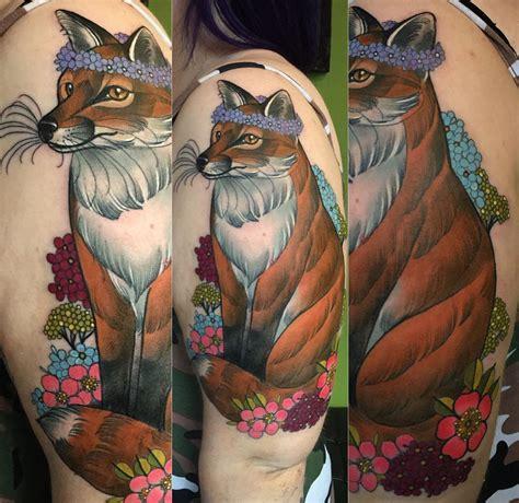 wildlife and nature tattoos by charlotte timmons modern