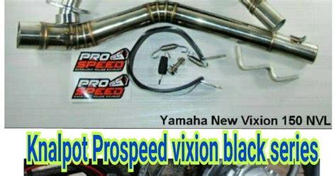 Knalpot Prospeed R25 Shark Black Series Fullsystem dj88 variasi toko aksesories terlengkap dan terpercaya se indonesia ori knalpot prospeed black