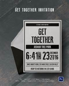 get together invitation template get together invitation template 25 free psd pdf