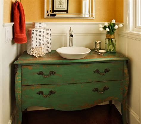 dresser style bathroom vanity paint and perhaps repurpose under used furniture olde