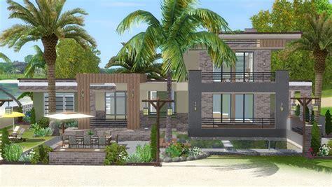 The Sims 3   House Building   Lagoon Beach (W/ SimLinks