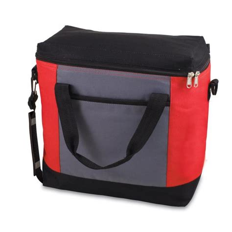 Picnic Time Insulated Cooler Tote picnic time montero insulated cooler tote gray and black
