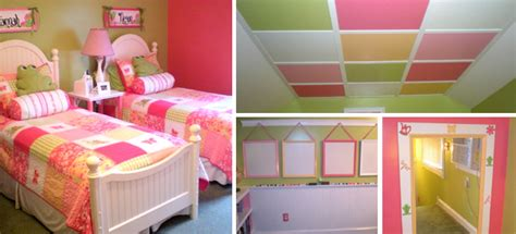 pink green girls bedroom room for two girls in green pink light color scale interior and decor ideas