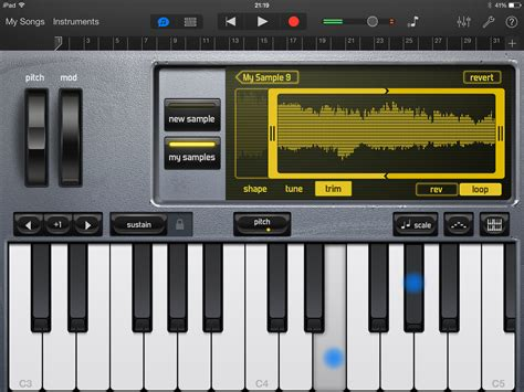 tutorial piano garageband garageband tutorial how to use garageband on ipad