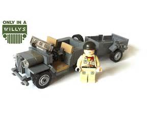 Lego Army Jeep Lego Willys Jeep Review Moc