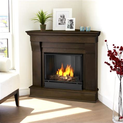 how to decorate a corner fireplace fireplace design ideas