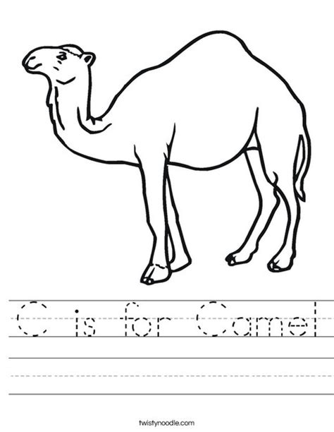 colouring book for adults south africa c is for camel worksheet twisty noodle