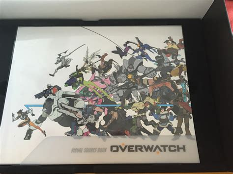 Ps4 Overwatch Collectors Edition overwatch collector s edition unboxing ps4 mithical