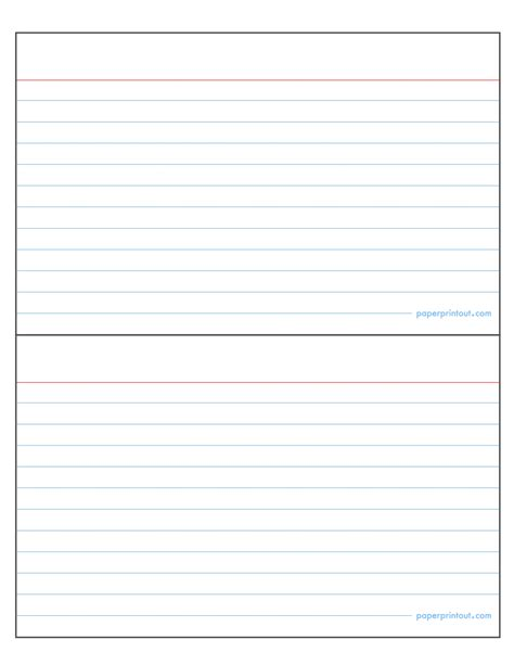 Microsoft Word Index Template by Index Card Template Word Carisoprodolpharm