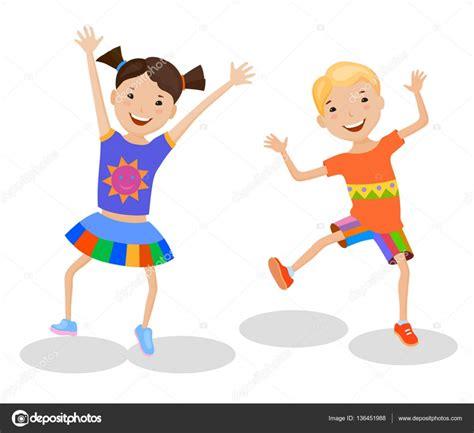imagenes de niños jugando y bailando ni 241 os bailando en trajes coloridos vector de stock